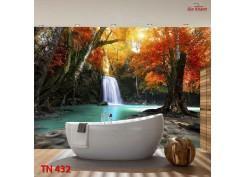Tranh Thác Nước TN432