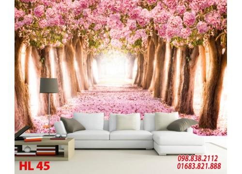 Tranh Hoa Lá HL45