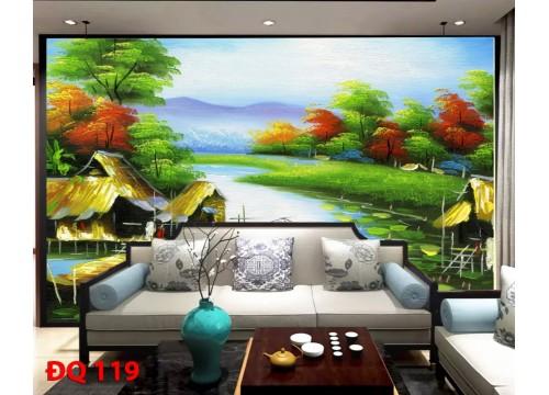 Tranh Đồng Quê DQ119