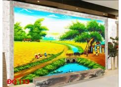 Tranh Đồng Quê DQ133