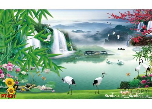 Tranh Phong Thủy PT421