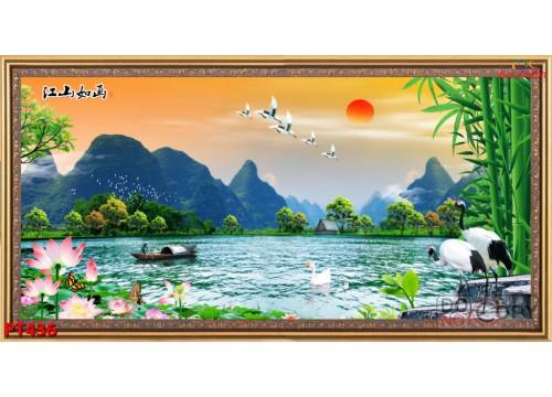 Tranh Phong Thủy PT436