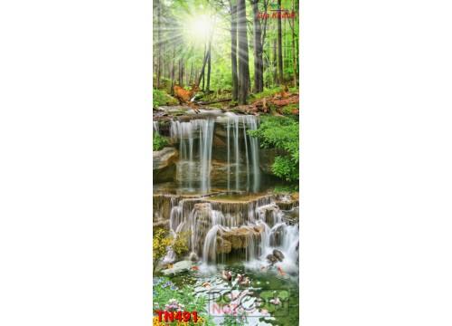 Tranh Thác Nước TN491