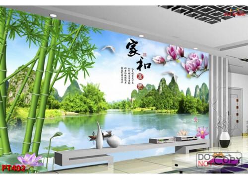 Tranh Phong Thủy PT402