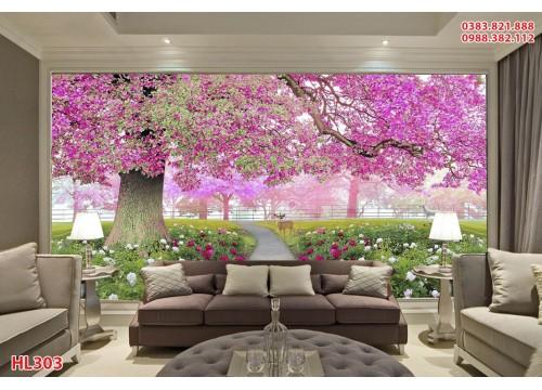 Tranh Hoa Lá HL303