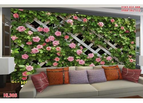 Tranh Hoa Lá HL305
