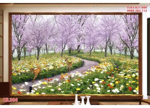 Tranh Hoa Lá HL306