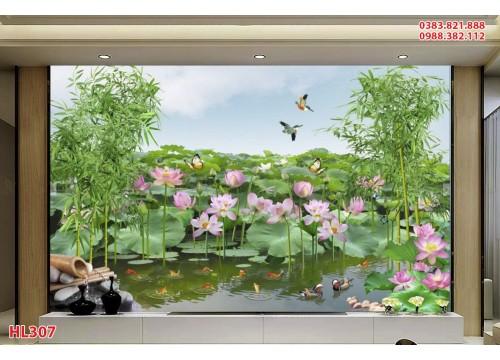 Tranh Hoa Lá HL307