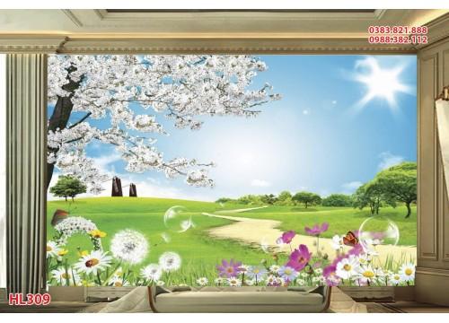 Tranh Hoa Lá HL309