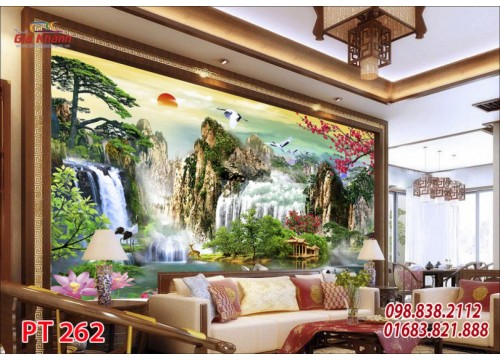Tranh Phong Thủy PT262
