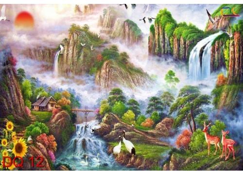 Tranh Đồng Quê DQ12