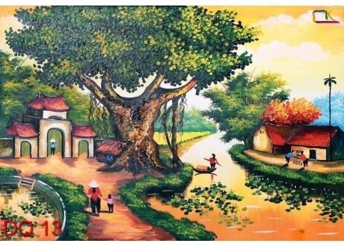 Tranh Đồng Quê DQ13