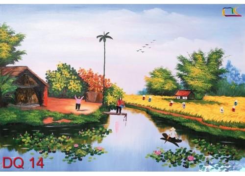Tranh Đồng Quê DQ14