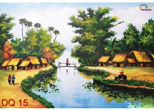 Tranh Đồng Quê DQ15