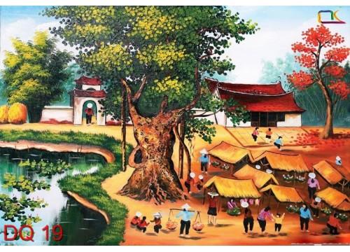 Tranh Đồng Quê DQ19