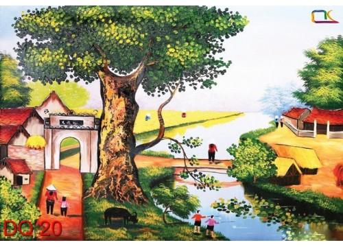 Tranh Đồng Quê DQ20
