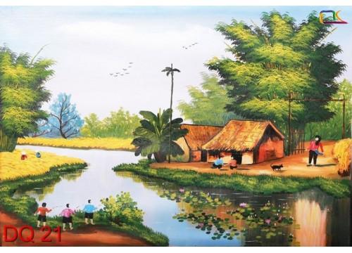 Tranh Đồng Quê DQ21