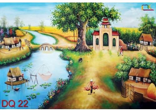 Tranh Đồng Quê DQ22