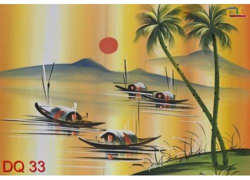 Tranh Đồng Quê DQ33