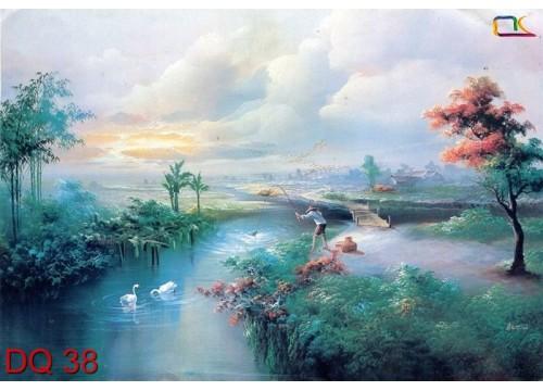Tranh Đồng Quê DQ38