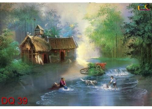 Tranh Đồng Quê DQ39