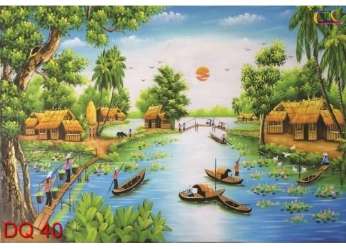 Tranh Đồng Quê DQ40