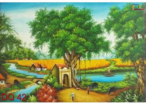 Tranh Đồng Quê DQ42