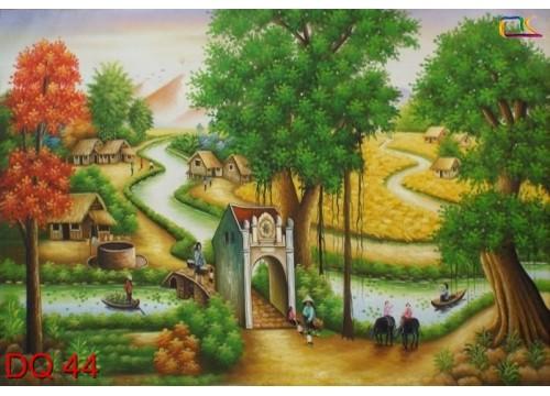 Tranh Đồng Quê DQ44