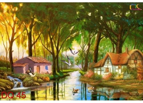 Tranh Đồng Quê DQ45