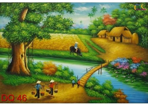 Tranh Đồng Quê DQ46
