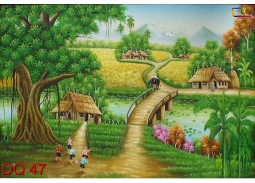 Tranh Đồng Quê DQ47