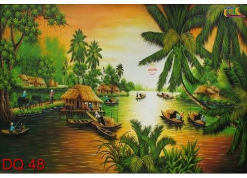 Tranh Đồng Quê DQ48