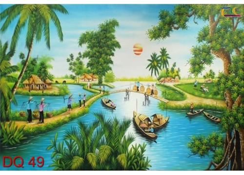 Tranh Đồng Quê DQ49