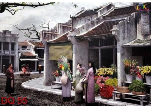 Tranh Đồng Quê DQ55