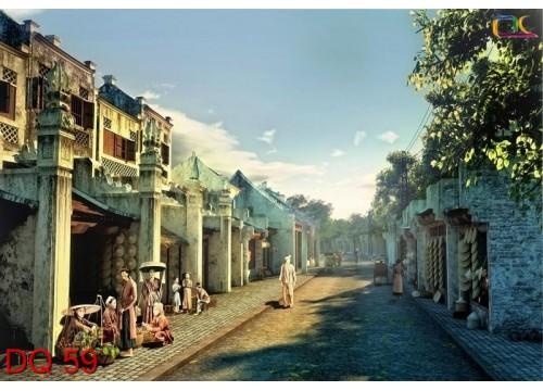Tranh Đồng Quê DQ59