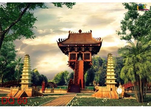 Tranh Đồng Quê DQ60