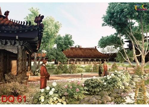 Tranh Đồng Quê DQ61