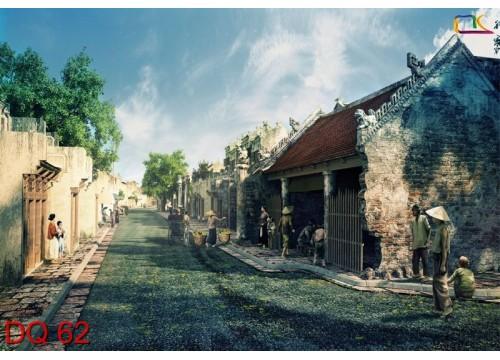 Tranh Đồng Quê DQ62