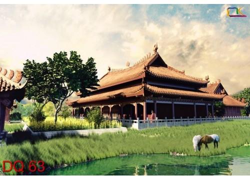 Tranh Đồng Quê DQ63