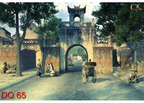 Tranh Đồng Quê DQ65