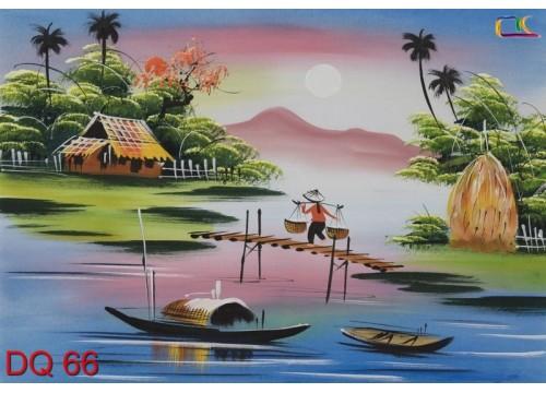 Tranh Đồng Quê DQ66