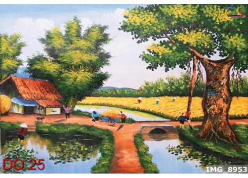 Tranh Đồng Quê DQ25
