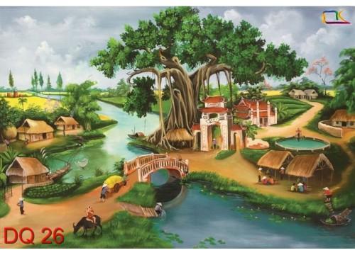 Tranh Đồng Quê DQ26