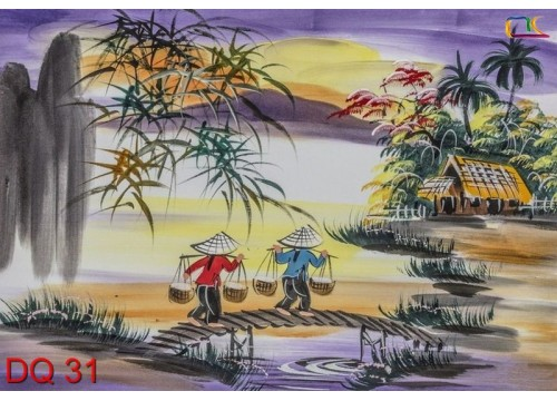 Tranh Đồng Quê DQ31